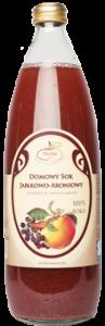 Domowy sok jabłkowy z aronią