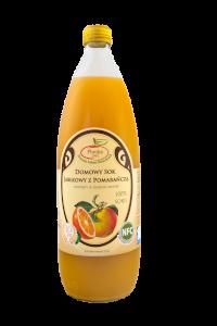 Sok jabłkowy z pomarańczą